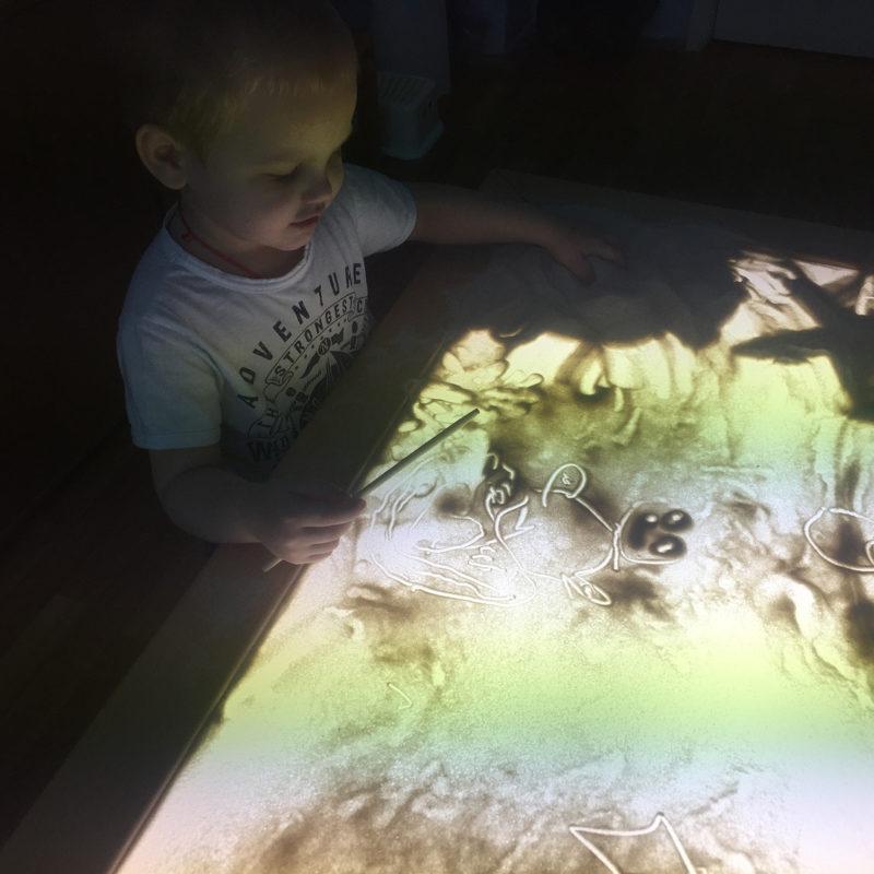 занятия песочной терапией для детей